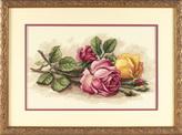Набор для вышивки крестом Dimensions «Срезанные розы» DMS-13720