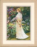 Набор для вышивки крестом Dimensions «В ее саду» DMS-35119