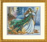Набор для вышивки крестом Dimensions «Лесная колдунья» DMS-35173