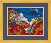 Набор для вышивки крестом Dimensions «Ночная поездка Санты» DMS-70-08934