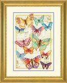 Набор для вышивки крестом Dimensions «Красота бабочек. gold collection» арт DMS-70-35338