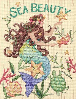 Набор для вышивки крестом Dimensions «Красота моря» DMS-70-35376