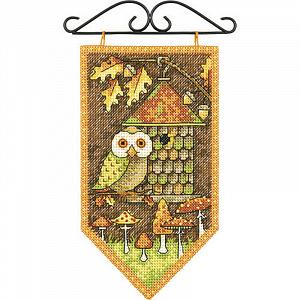 Набор для вышивки крестом Dimensions «ОСЕНЬ» DMS-72-74135