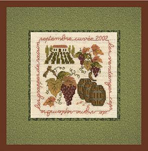 Набор для вышивания крестом Le Bonheur Des Dames «La vigne» 2236
