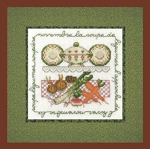 Набор для вышивания крестом Le Bonheur Des Dames «La soupe de legumes» 2237