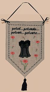 Набор для вышивания крестом Le Bonheur Des Dames «Prive» 5056