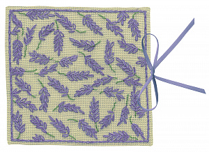 Набор для вышивания чехла для игл Le Bonheur Des Dames «Étui a aiguilles lavande» 3467