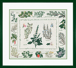 Набор для вышивания крестом Le Bonheur Des Dames «Les herbiers» арт 1191