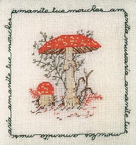 Набор для вышивания крестом Le Bonheur Des Dames «Amanite tue mouches» 1681