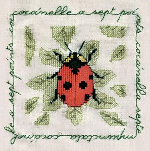 Набор для вышивания крестом Le Bonheur Des Dames «Coccinelle a sept points» 1692