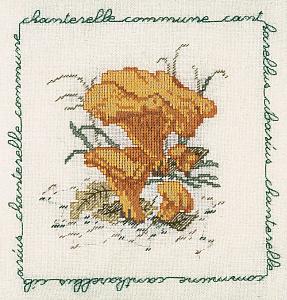 Набор для вышивания крестом Le Bonheur Des Dames «Chanterelle commune» 1684