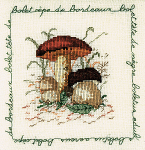 Набор для вышивания крестом Le Bonheur Des Dames «Bolet cepe de bordeaux» 1682