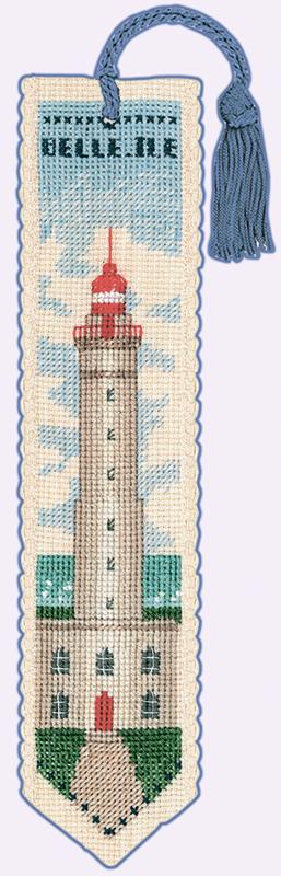 Набор для вышивания закладки Le Bonheur Des Dames «Marque page belle» арт. 4520