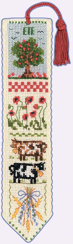Набор для вышивания закладки Le Bonheur Des Dames «Marque page ete» 4533