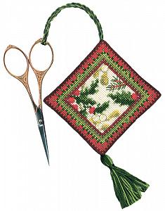 Набор для вышивания аксессуара для ножниц Le Bonheur Des Dames «Porte ciseaux hiver» 3351
