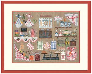 Набор для вышивания крестом Le Bonheur Des Dames «Accessoires la cuisine» арт. 2680