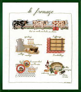 Набор для вышивания крестом Le Bonheur Des Dames «Le fromage» арт. 1184