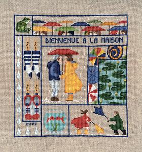Набор для вышивания крестом Le Bonheur Des Dames «Bienvenue mars» 2652