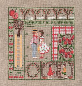 Набор для вышивания крестом Le Bonheur Des Dames «Bienvenue juin» 2655