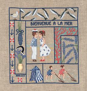Набор для вышивания крестом Le Bonheur Des Dames «Bienvenue juillet» 2656