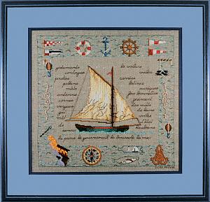 Набор для вышивания крестом Le Bonheur Des Dames «Voiles au vent» 1130