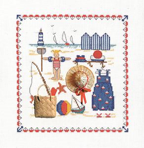 Набор для вышивания крестом Le Bonheur Des Dames «Accessoires mer» 2610