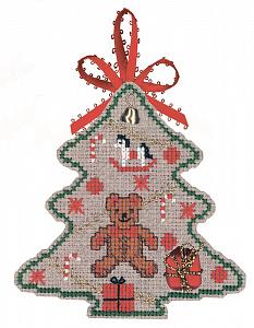 Набор для вышивания крестом Le Bonheur Des Dames «Sapin ours» 2730