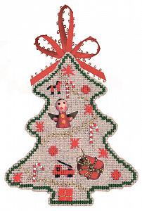 Набор для вышивания крестом Le Bonheur Des Dames «Sapin jouets» 2731