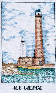 Набор для вышивания крестом Le Bonheur Des Dames «Ile vierge» 1983