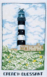 Набор для вышивания крестом Le Bonheur Des Dames «Phare creac'h ouessant» 1984
