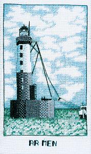 Набор для вышивания крестом Le Bonheur Des Dames «Phare ar men» 1986