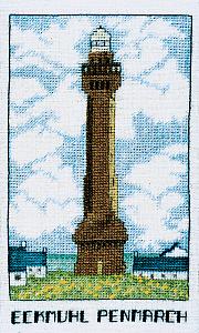 Набор для вышивания крестом Le Bonheur Des Dames «Phare eckmuhl penmarc'h» 1987