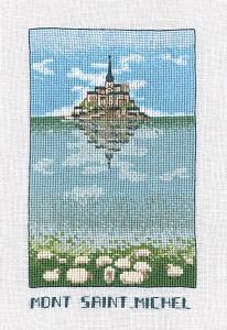 Набор для вышивания крестом Le Bonheur Des Dames «Mont st michel» 1990