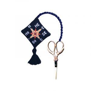 Набор для вышивания аксессуара для ножниц Le Bonheur Des Dames «Porte – ciseaux boussole» 3332