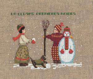 Набор для вышивания крестом Le Bonheur Des Dames «Bonhomme de neige» 2325