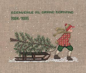 Набор для вышивания крестом Le Bonheur Des Dames «Traineau» 2324