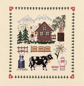 Набор для вышивания крестом Le Bonheur Des Dames «Accessoires la montagne» 2611