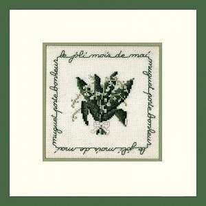 Набор для вышивания крестом Le Bonheur Des Dames «Mai» 2213