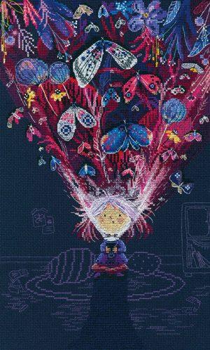 Набор для вышивки крестом РТО «В свете» M594