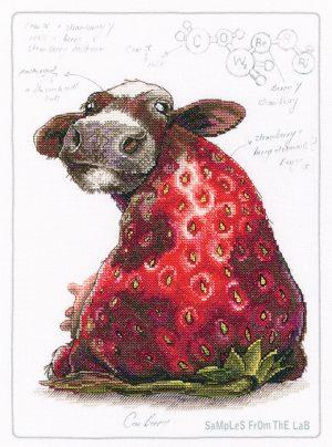 Набор для вышивки крестом РТО «Cow berri» M70041