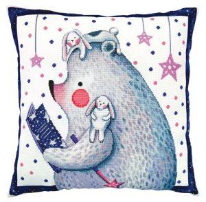 Набор для вышивки подушки РТО «Читаю по звёздам» CU069