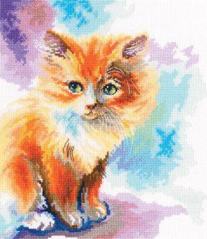 Набор для вышивки крестом РТО «Солнечный котёнок» M827
