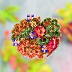 Набор для вышивания бисером MILL HILL «Осенние листья» MH181206