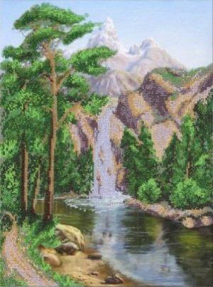 Набор для вышивки бисером Паутинка «Водопад» Б-1404