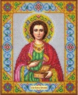 Набор для вышивки бисером Паутинка «Святой Пантелеимон» Б-1018