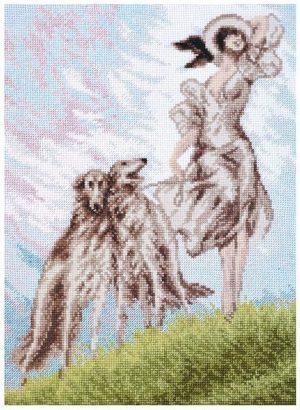 Набор для вышивки крестом Палитра «ТРИ ГРАЦИИ» 11.014