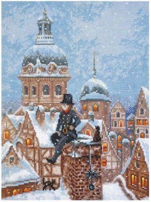 Набор для вышивки крестом Палитра «ТРУБОЧИСТ» 07.022