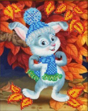 Набор для вышивки бисером Паутинка «Зайчишка» Б- 551