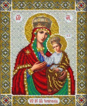 Набор для вышивки бисером Паутинка «Богородица Черниговская» Б-1043