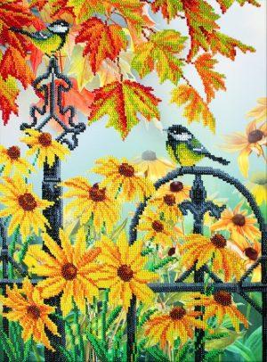 Набор для вышивки бисером Паутинка «Краски осени» Б-1298